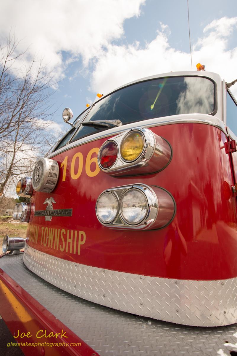 Mike's American LaFrance tanker pumper, by Joe Clark www.glasslakesphotography.com