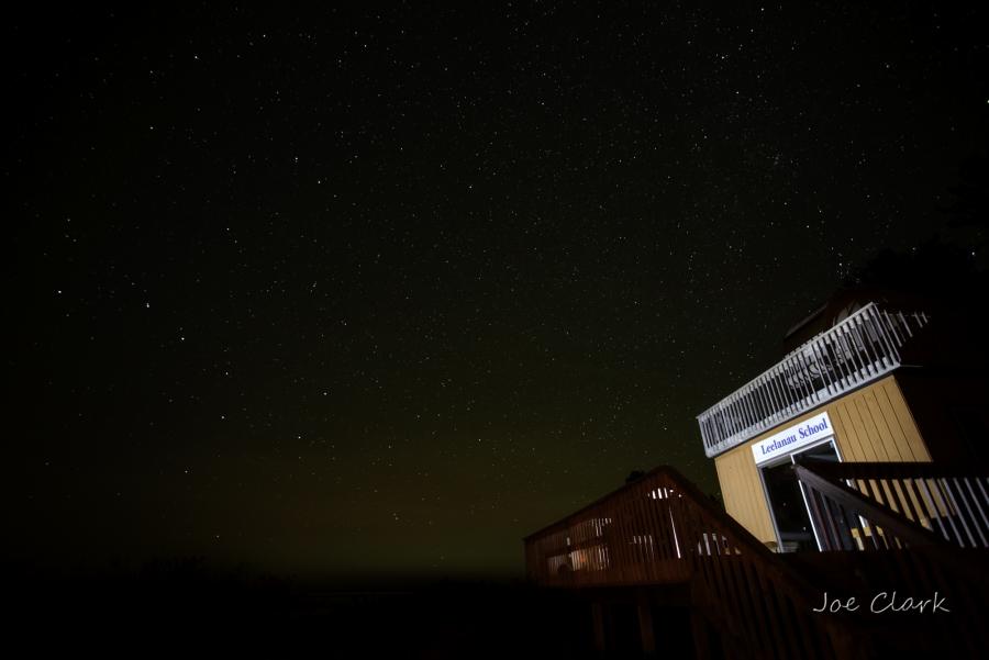 stars markeing night dark sky