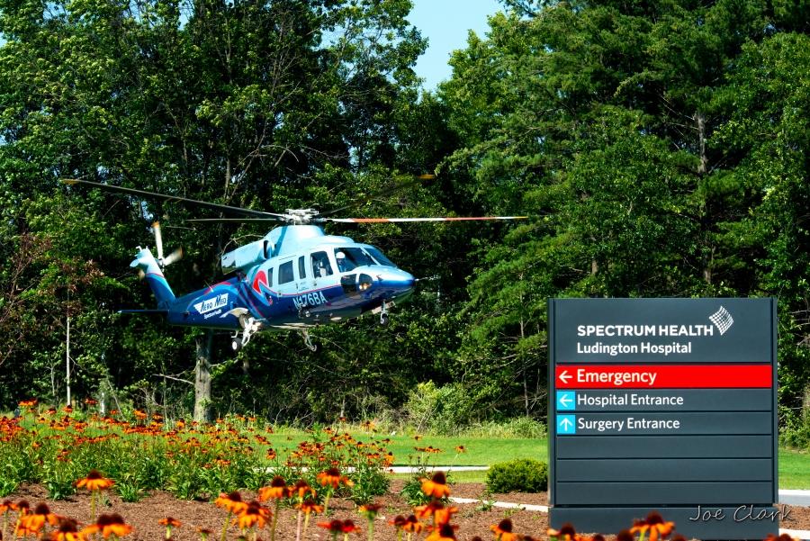 helocopter hospitable ambulance marketing