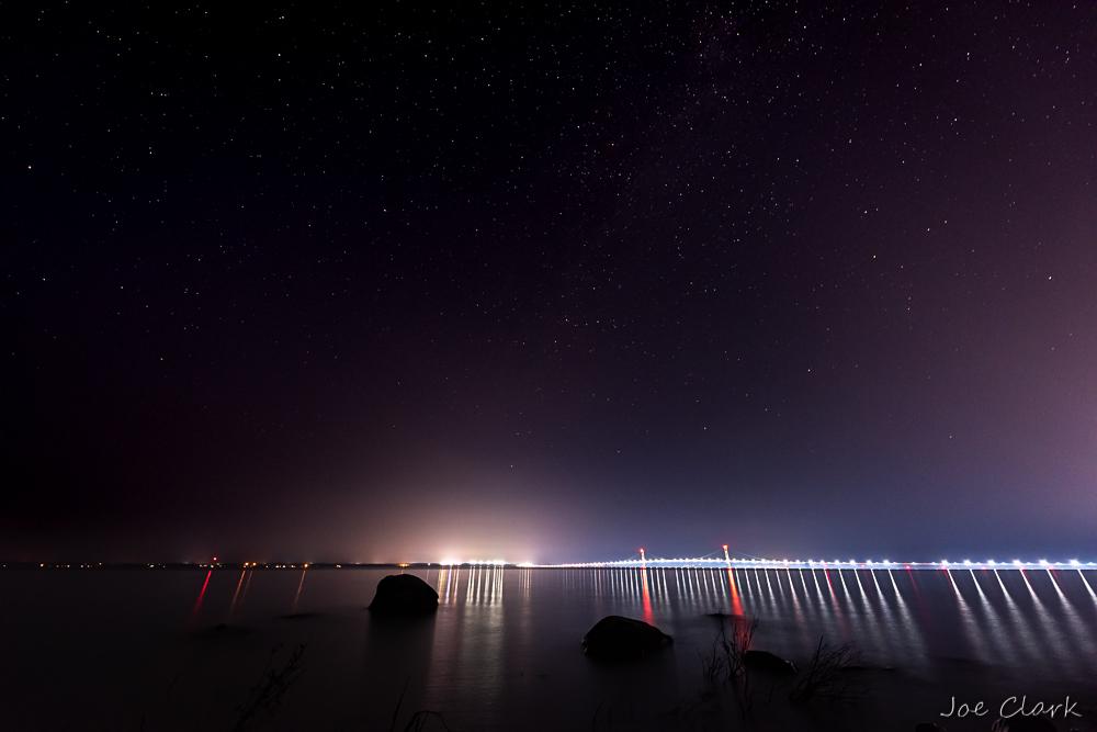 Stars over the Straights by Joe Clark_