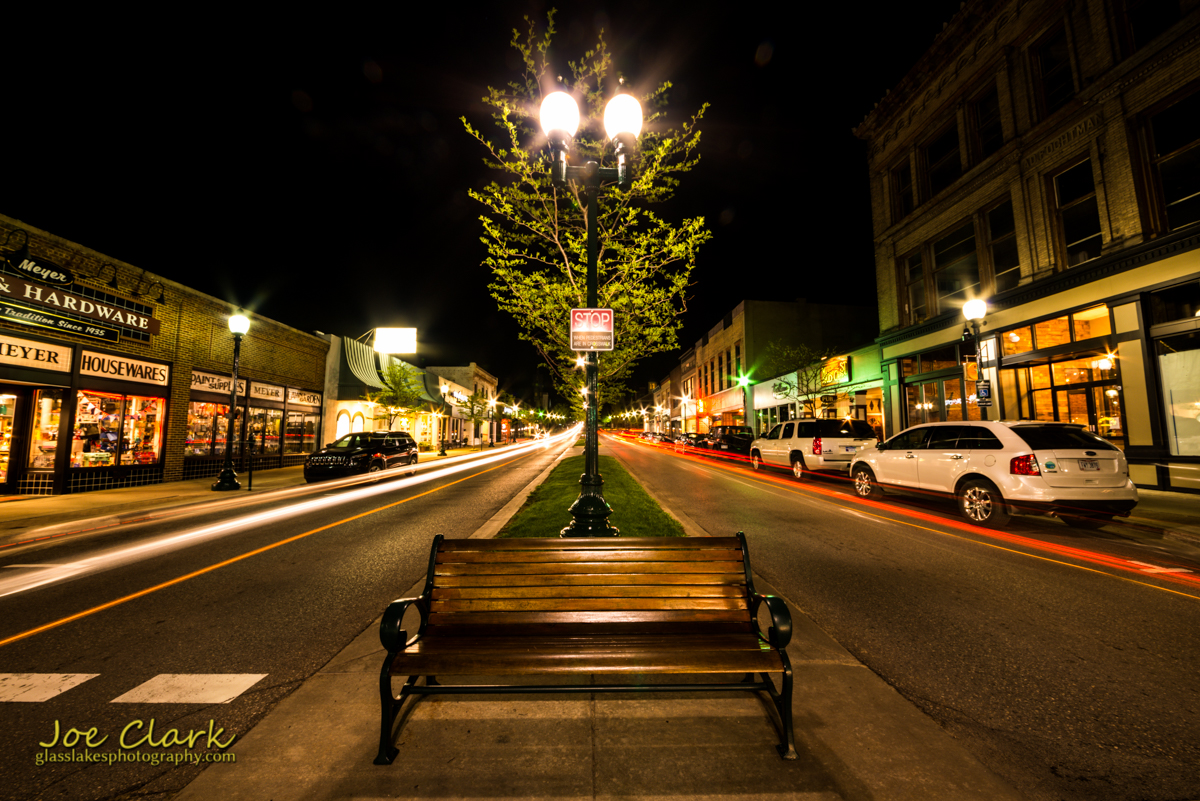 Night-shift in Downtown Petoskey