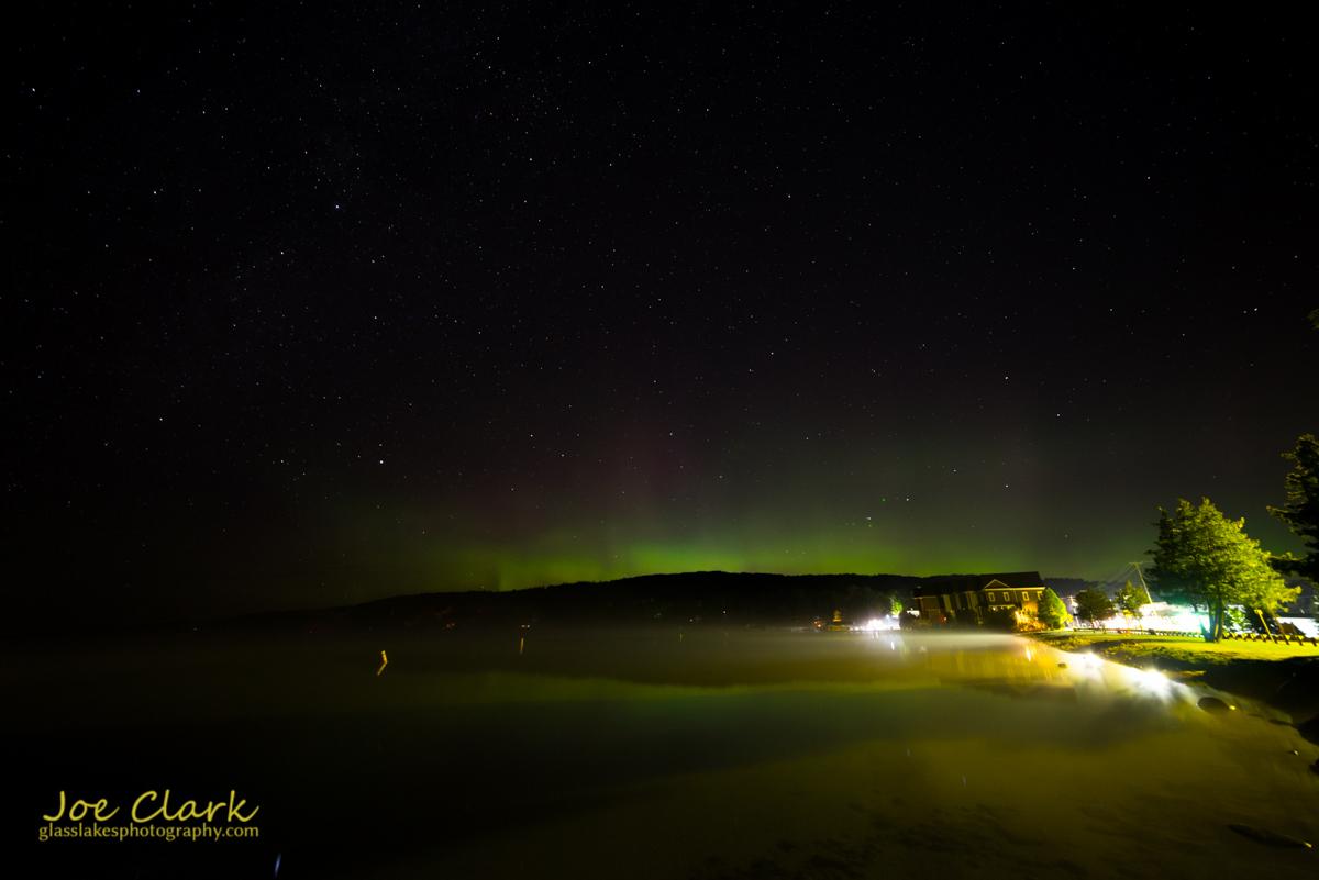 Northern Lights over Walloon