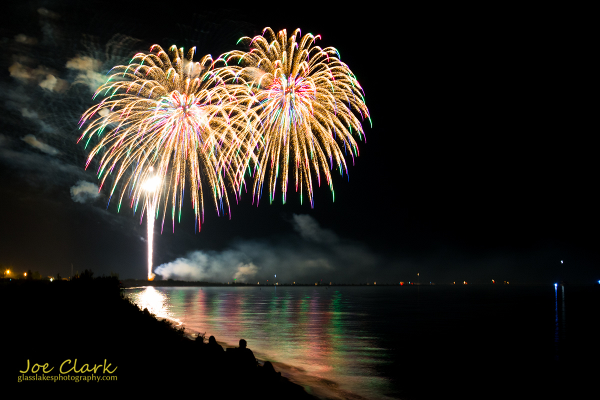 Gallery of Fireworks over Ludington